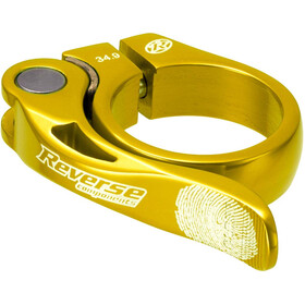 Reverse Long Life Sattelklemme 34,9mm gold